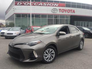 Used 2017 Toyota Corolla SE ***AUTOM/23 333KM + PEA 2022 100K*** for sale in St-Eustache, QC