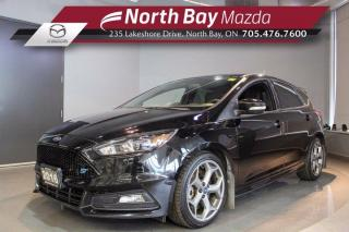 Used 2016 Ford Focus ST  - Click Here! Test Drive Appts Available! for sale in North Bay, ON