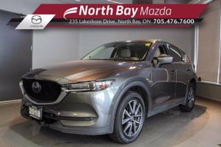 Used 2018 Mazda CX-5 GT AWD - Click Here! Test Drive Appts Available! for sale in North Bay, ON