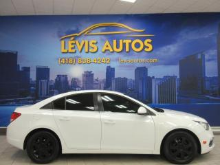Used 2015 Chevrolet Cruze LT 89000 KM CAMERA DE RECUL BLUETOOTH  T for sale in Lévis, QC