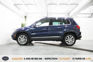 Used 2017 Volkswagen Tiguan 4MOTION Comfortline + Toit + Caméra + Mag for sale in Québec, QC