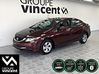 Used 2015 Honda Civic LX ** CLIMATISEUR ** Idéal comme première voiture! for sale in Shawinigan, QC