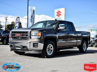 Used 2015 GMC Sierra 1500 Double Cab 4x4 ~5.3 V8 ~Trailer Tow ~Backup Camera for sale in Barrie, ON