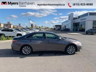 Used 2017 Toyota Camry HYBRID XLE  - Navigation -  Sunroof - $162 B/W for sale in Ottawa, ON