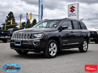 Used 2016 Jeep Compass High Altitude 4x4 ~Heated Leather ~Power Moonroof for sale in Barrie, ON