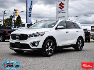 Used 2016 Kia Sorento EX 4x4 ~V6 ~7-Passenger ~Leather ~Panoramic Roof for sale in Barrie, ON