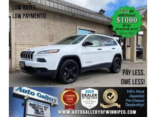 Used 2016 Jeep Cherokee North* 4WD/Htd seats/B.cam/B.tooth for sale in Winnipeg, MB