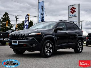 Used 2016 Jeep Cherokee Trailhawk 4x4 ~Backup Camera ~Bluetooth for sale in Barrie, ON