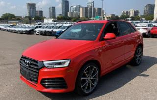 Used 2017 Audi Q3 TECHNIK QUATTRO 2.0 TOIT for sale in Île-Perrot, QC