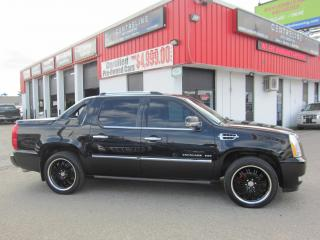 Used 2010 Cadillac Escalade EXT RARE!! $19,995+HST+LIC FEE / CLEAN CARFAX / CERTIFIED / ALL WHEEL DRIVE for sale in North York, ON