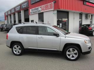 Used 2013 Jeep Compass North Edtion $7,995+HST+LIC FEE /CERTIFIED / ALL WHEEL DRIVE for sale in North York, ON