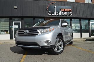 Used 2013 Toyota Highlander LIMITED/LEATHER/SUNROOF/LEATHER for sale in Concord, ON