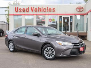 Used 2016 Toyota Camry LE | BACK-UP CAMERA | WINTER TIRES | SINGLE OWNER for sale in North York, ON