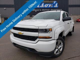 Used 2018 Chevrolet Silverado 1500 Crew 4x4, 5.3L, Bluetooth, Rear Camera, Trailering Pkg, 20