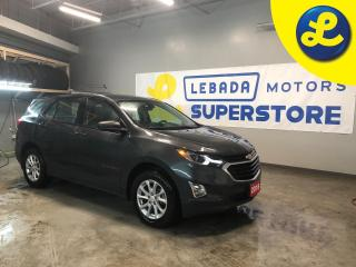 Used 2018 Chevrolet Equinox AWD * Remote vehicle starter system * Phone connect * Noise control system, active noise cancellation *  Heated front seats * Push button ignition * H for sale in Cambridge, ON