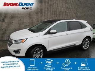 Used 2017 Ford Edge 4 portes Titanium, Traction intégrale for sale in Gatineau, QC