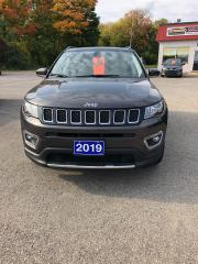 Used 2019 Jeep Compass LIMITED for sale in Morrisburg, ON