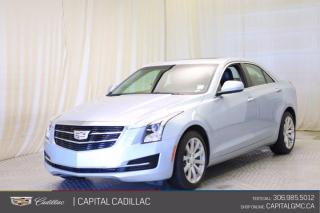 Used 2017 Cadillac ATS Sedan AWD*LEATHER*SUNROOF* for sale in Regina, SK