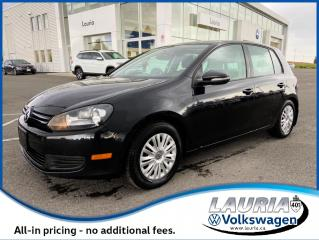 Used 2013 Volkswagen Golf 2.5L Trendline Auto - LOW KMS for sale in PORT HOPE, ON