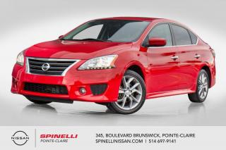Used 2015 Nissan Sentra SR NAVIGATION NAVIGATION / MAGS17' '/ CAMERA DE RECUL for sale in Montréal, QC