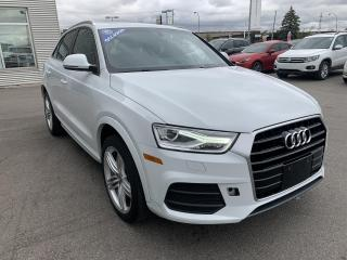 Used 2016 Audi Q3 2.0T Progressiv FWD 6sp Tiptronic for sale in Gatineau, QC