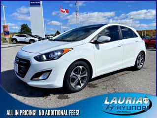 Used 2016 Hyundai Elantra GT GLS Auto - Panoramic roof for sale in Port Hope, ON