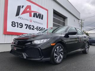 Used 2018 Honda Civic LX MANUAL for sale in Rouyn-Noranda, QC