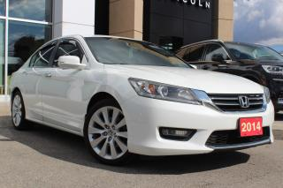 Used 2014 Honda Accord EX-L LEATHER SUNROOF CERTIFIED for sale in Hamilton, ON