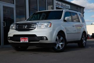 Used 2015 Honda Pilot Touring TOURING DVD AWD BACK UP CAM LEATHER SUNROOF + for sale in Chatham, ON