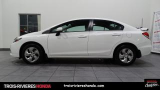 Used 2015 Honda Civic LX + BAS KILO + BLUETOOTH + CAMERA RECUL for sale in Trois-Rivières, QC
