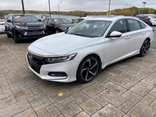 Used 2018 Honda Accord manuelle for sale in Rouyn-Noranda, QC