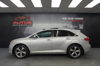 Used 2011 Toyota Venza V6 FWD CUIR TOIT PANO CAMERA BLUETOOTH 165 230 KM for sale in Lévis, QC