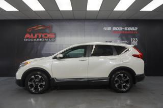 Used 2017 Honda CR-V AWD TOURING CUIR TOIT GPS NAV FULL CAMERA 66 970 for sale in Lévis, QC