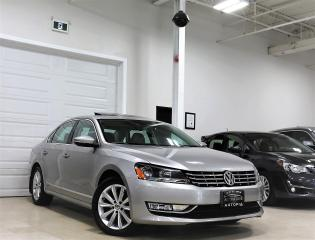 Used 2012 Volkswagen Passat 2.0 TDI HIGHLINE NAVIGATION SUNROOF DIESEL for sale in North York, ON