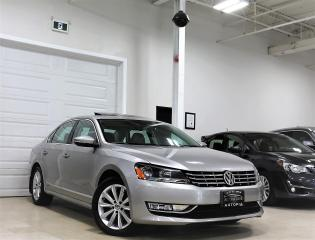 Used 2012 Volkswagen Passat 2.0 TDI HIGHLINE NAVIGATION SUNROOF DIESEL for sale in North York, ON