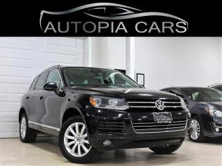 Used 2011 Volkswagen Touareg TDI COMFORTLINE NAVIGATION PANORAMIC SUNROOF for sale in North York, ON