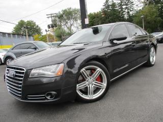 Used 2012 Audi A8 A8 4.2L QUATTRO|PREMIUM|NAVIGATION|SUNROOF !! for sale in Burlington, ON