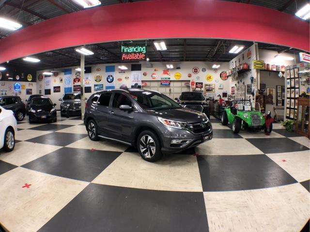 2016 Honda CR-V TOURING AUT0 A/C LEATHER SUNROOF CAMERA