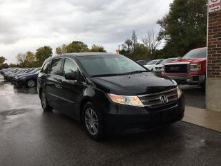 Used 2011 Honda Odyssey EX-L. LEATHER-DVD-SUNROOF-REAR CAMERA for sale in London, ON
