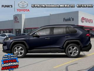 New 2021 Toyota RAV4 Hybrid Limited  - Leather Seats for sale in Steinbach, MB