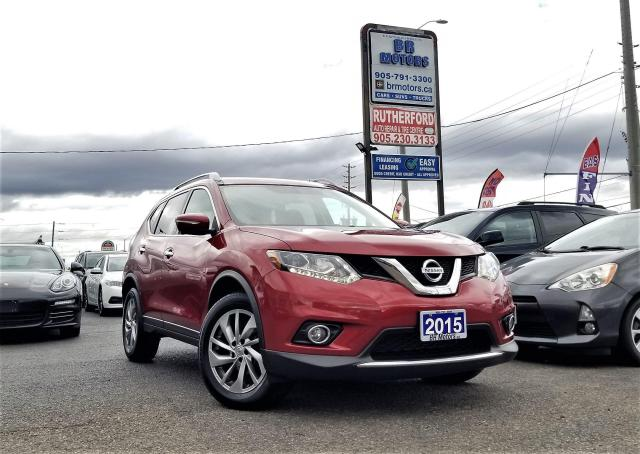 2015 Nissan Rogue AWD | SL | Low Km | One Owner | NAV | CAM|