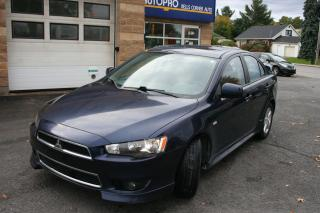 Used 2014 Mitsubishi Lancer SE for sale in Nepean, ON