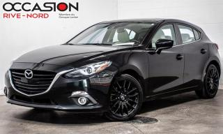 Used 2014 Mazda MAZDA3 Sport GT NAVI+CUIR+TOIT.OUVRANT for sale in Boisbriand, QC