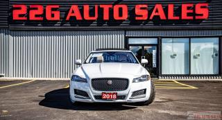 Used 2018 Jaguar XF Prestige, 25T|ACCIDENT FREE|BACKUP CAM|NAV|LEATHER for sale in Brampton, ON