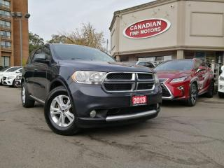 Used 2013 Dodge Durango SXT for sale in Scarborough, ON