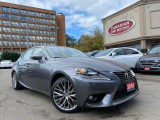 Used 2016 Lexus IS 300 NAVI | CAM | ROOF | AWD | B.S.M | BAL WARRANTY | for sale in Scarborough, ON