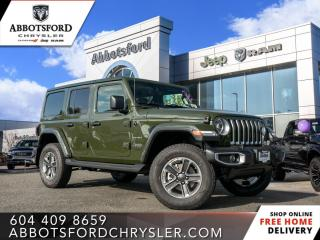 New 2021 Jeep Wrangler Sahara Unlimited  - Leather Seats - $405 B/W for sale in Abbotsford, BC
