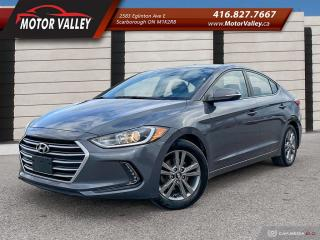 Used 2017 Hyundai Elantra GL B.UP CAMERA 1-OWNER - NO ACCIDENT! MINT! for sale in Scarborough, ON
