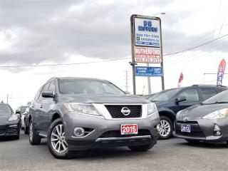 Used 2015 Nissan Pathfinder No Accidents | 4WD | Reverse cam | Heated seats for sale in Brampton, ON