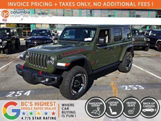 New 2021 Jeep Wrangler RUBICON for sale in Richmond, BC